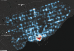 A Typical North American City, Toronto is Not Friendly to Its Pedestrians